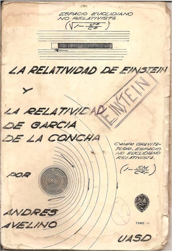 La Relatividad de Einstein y Garcia de la Concha